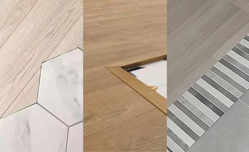其实,只要解决了衔接的矛盾,地板和地砖也能和谐相处.