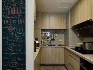小户型厨房木地板装修效果图 木地板铺装效果图