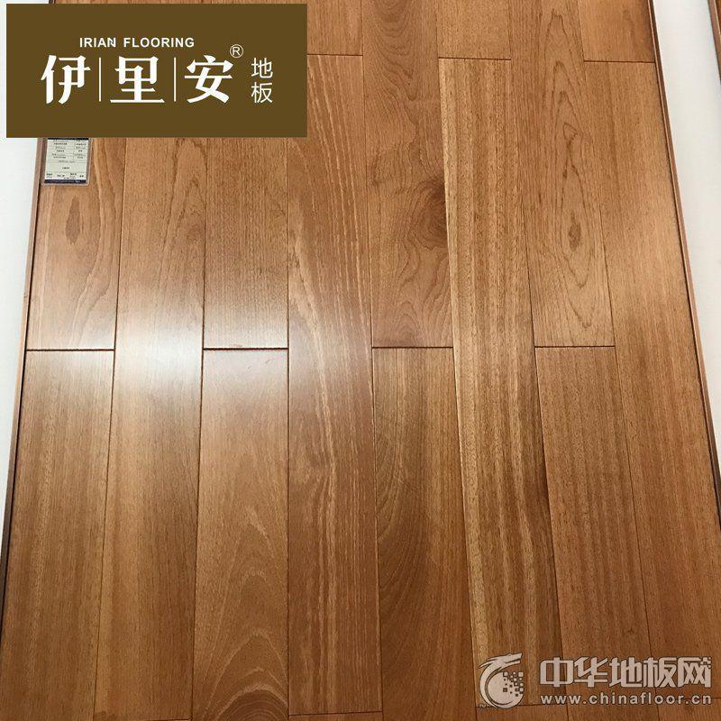伊里安任嘠漆木实木地板地热地板