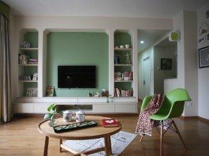 田园风格小客厅木地板装修图片 客厅木地板图片