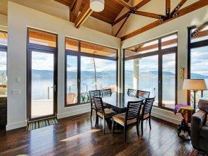 复古风格别墅客厅榆木地板家装效果图 强化复合地板图片