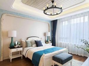 地中海风格木地板装修图片 浓郁的蓝色海洋风情