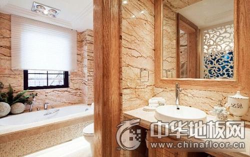 欧式田园风木地板装修效果图 卧室木地板图片