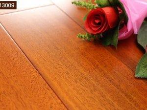 安信纽墩豆(非洲柚木)  纯正全实木地板  厂家直销