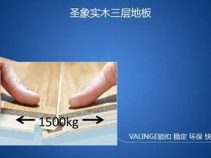 圣象地板 实木三层地板图片