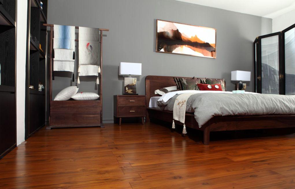 大自然地板 柚木地板装修效果图