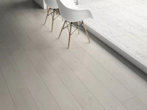 圣达地板  北欧风搭配白色地板效果图