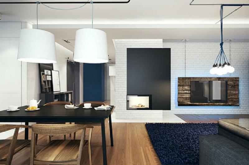 现代简约风木地板装修效果图 品味不一样的高端感_4