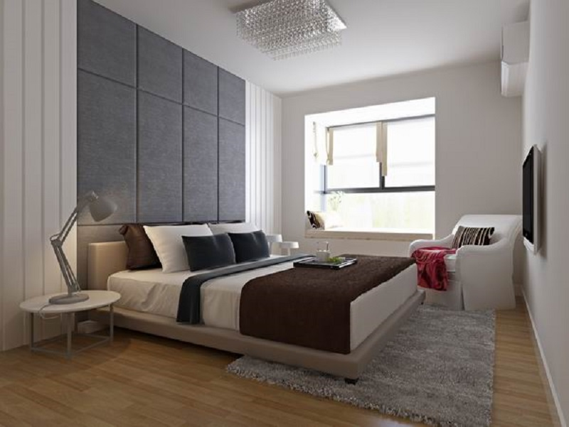 现代简约风木地板装修效果图 品味不一样的高端感_9