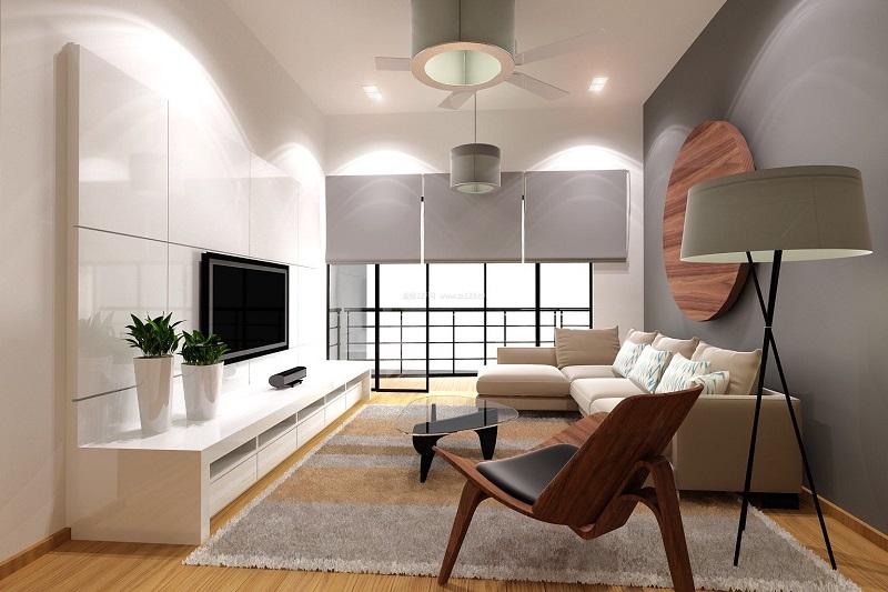 现代简约风木地板装修效果图 品味不一样的高端感_11