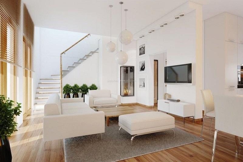 现代简约风木地板装修效果图 品味不一样的高端感_12