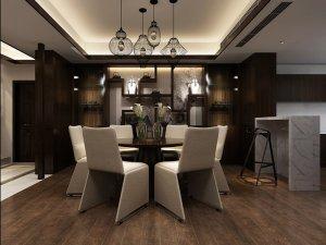 浅灰色木地板装修效果图 简约室内地板图片大全