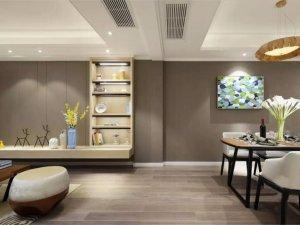 清新白色地板装修效果图 餐厅木地板装修效果图大全