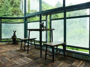 最新阳台木地板效果图 欧式地板装修效果图