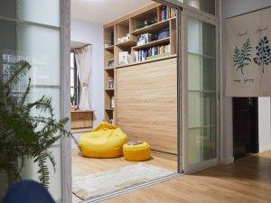小户型地板装修效果图大全 清新风原木风格装修效果图