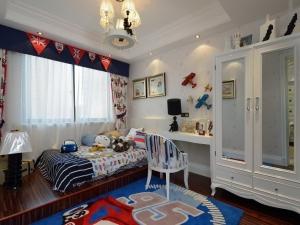 奢华红色地板装修效果图 欧式卧室地板装修效果图