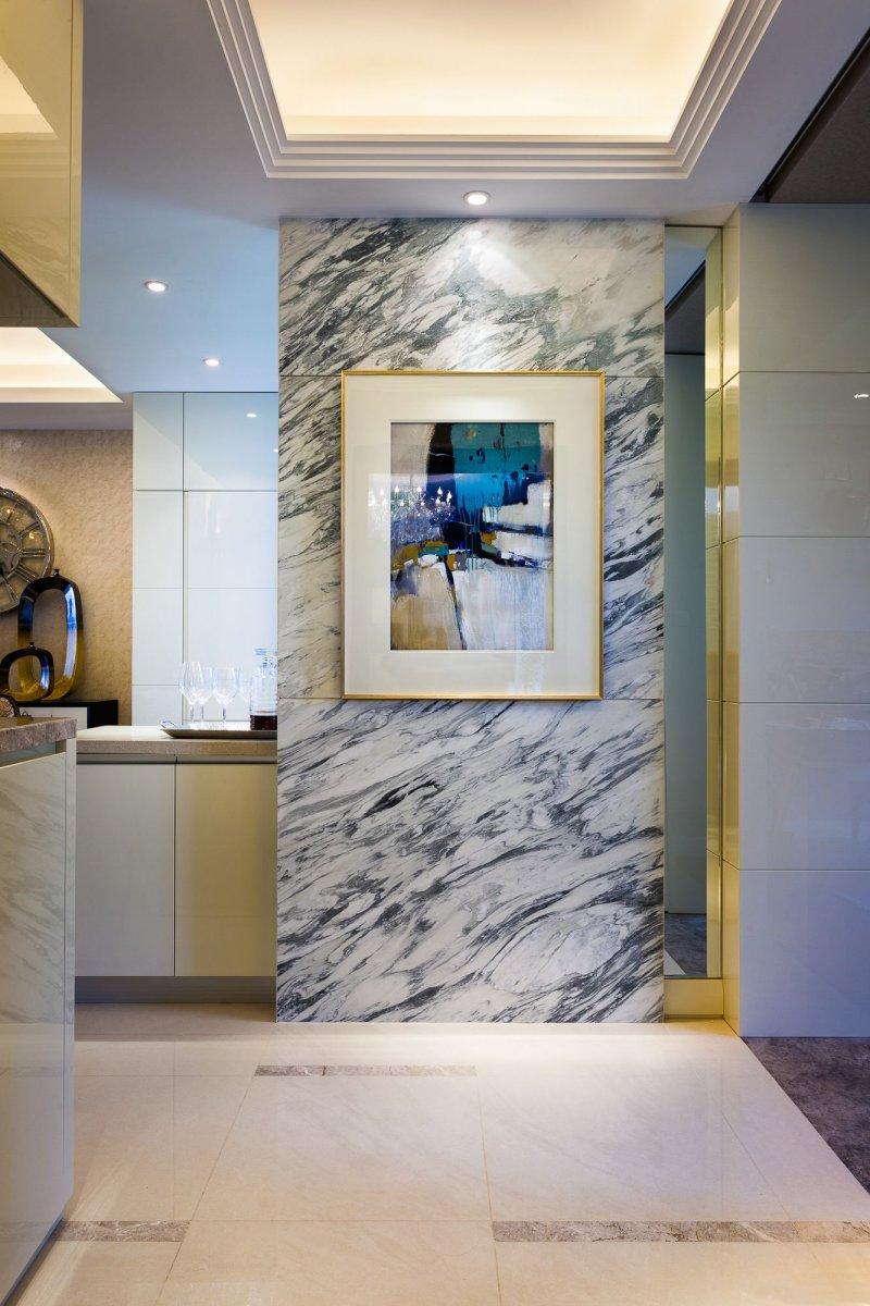混搭风书房木地板效果图 咖啡色地板的搭配图片_5