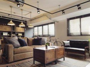 美式地板装修效果图 浅色地板效果图家装