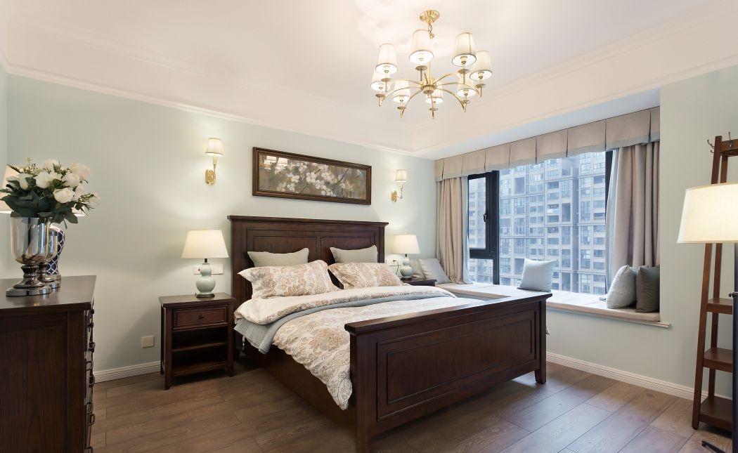 美式客厅地板效果图 暖灰色地板效果图_6