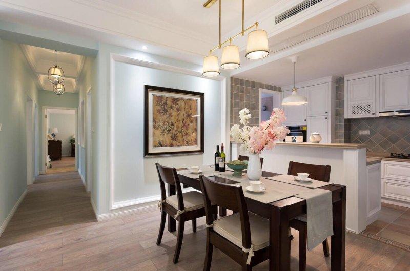 美式客厅地板效果图 暖灰色地板效果图_3