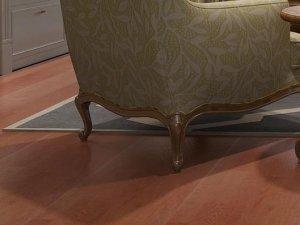 必美实木复合橡木地板效果图大全