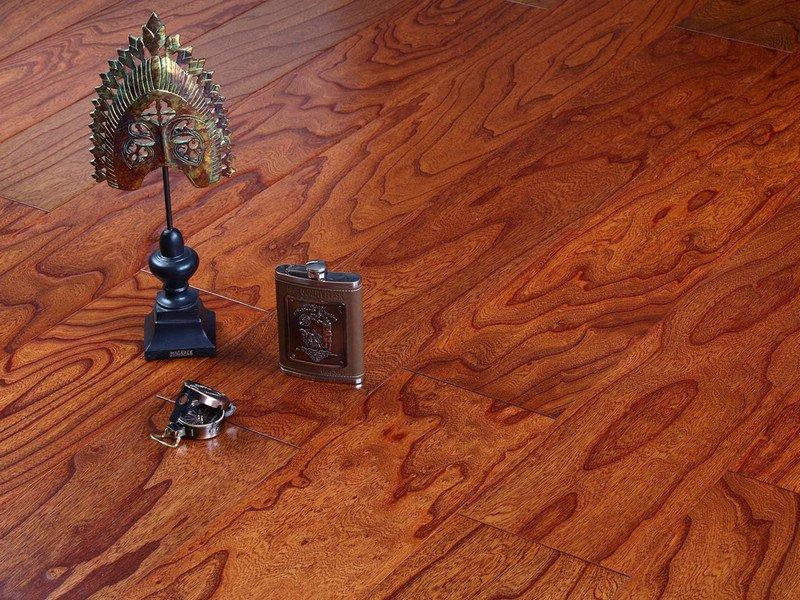 贝亚克·青花瓷地板 多层实木复合榆木浮雕系列_5