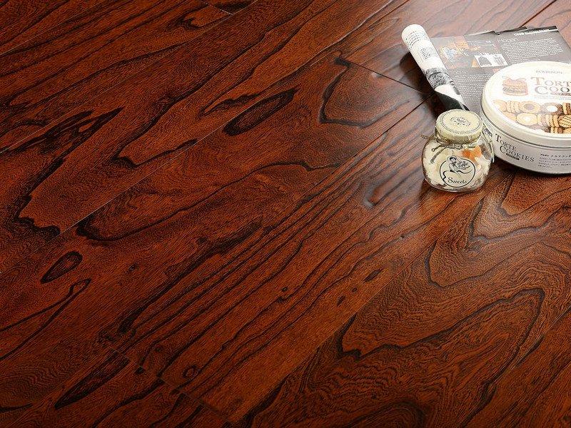 贝亚克·青花瓷地板 多层实木复合榆木浮雕系列_6