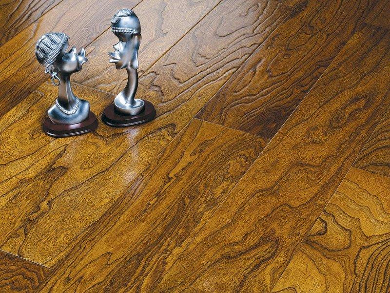 贝亚克·青花瓷地板 多层实木复合榆木浮雕系列_7