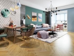 生活家地板 客厅地板装修效果图片