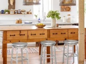 欧式地板装修效果图大全 厨房木地板装修效果图大全