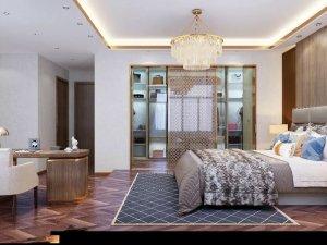 拼花咖啡色地板效果图 家装欧式地板装修效果图大全