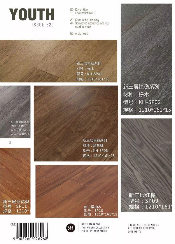 康輝地板圖片 客廳實木地板效果圖