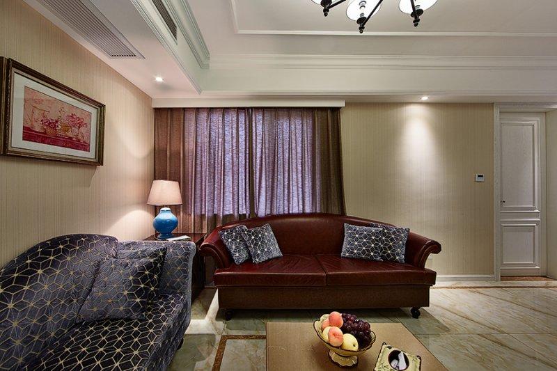 美式小户型地板装修效果图大全 卧室深色地板装修效果图_3