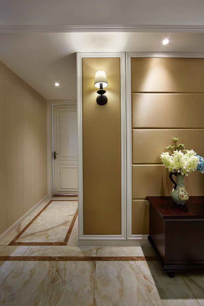 美式小户型地板装修效果图大全 卧室深色地板装修效果图_24