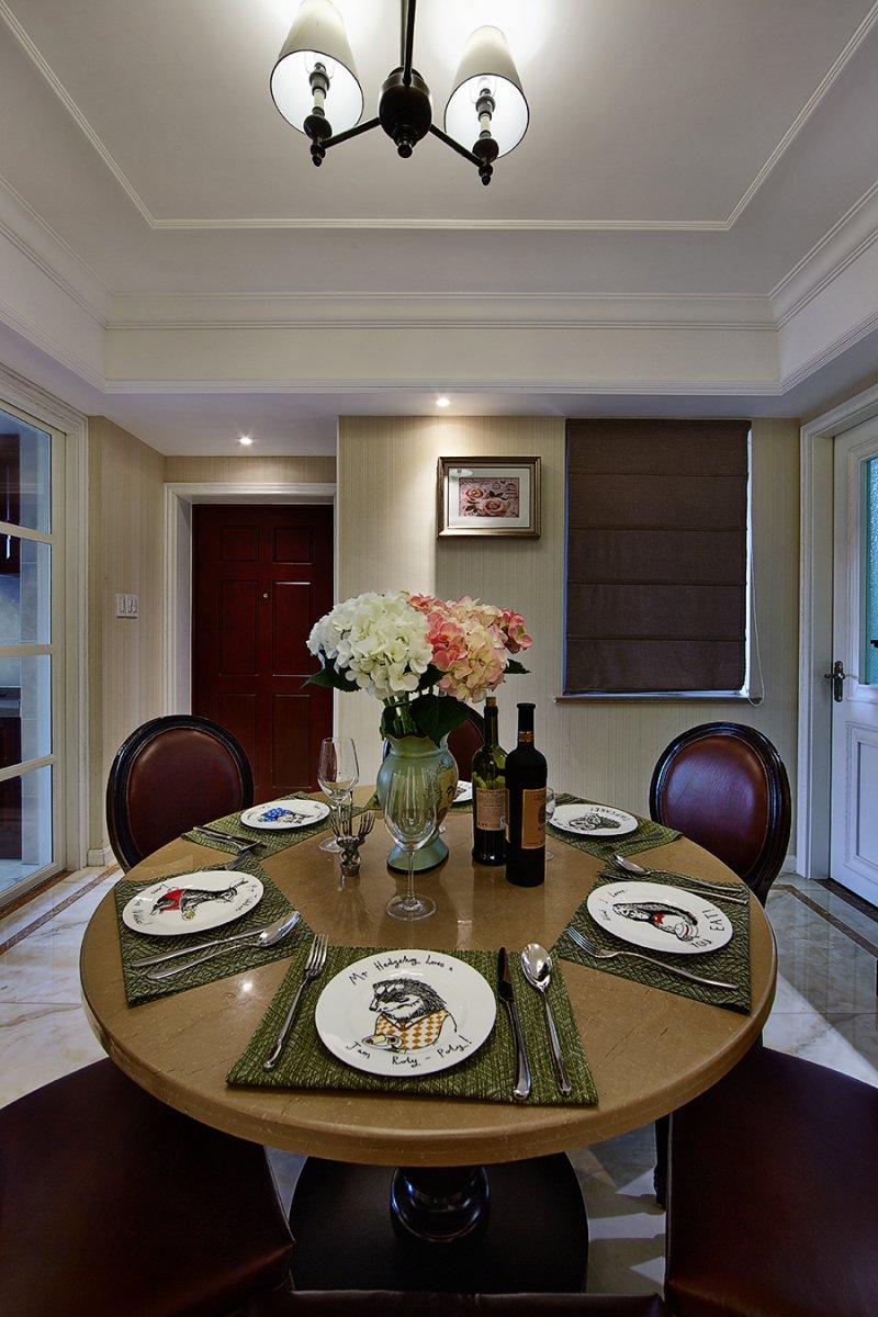 美式小户型地板装修效果图大全 卧室深色地板装修效果图_7