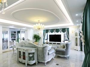 浪漫法式家装地板效果图大全 欧式地板装修效果图