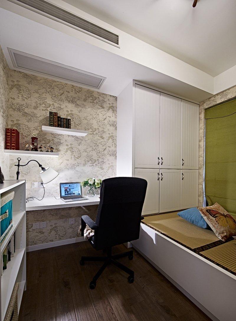 简约客厅美式地板效果图 木地板颜色效果图