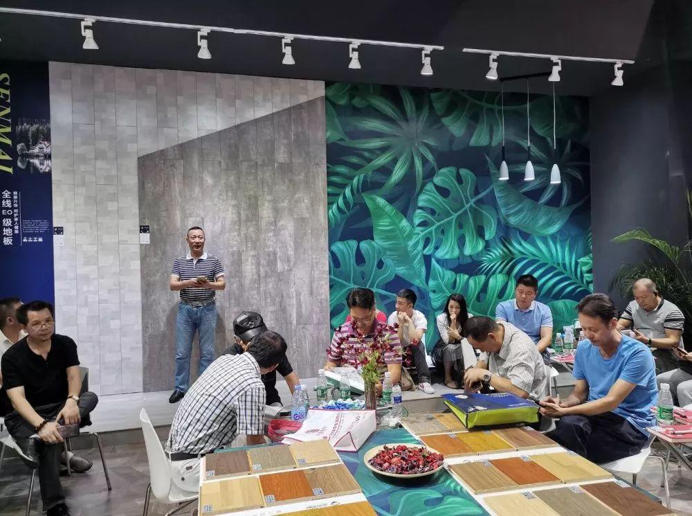 森迈地板以最好的姿态亮相2019广州建博会