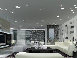 简约欧式风格装修效果图 家装地板效果图大全