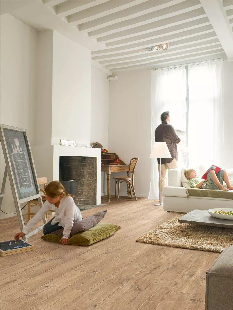 得高Quick-step艺术木地板效果图