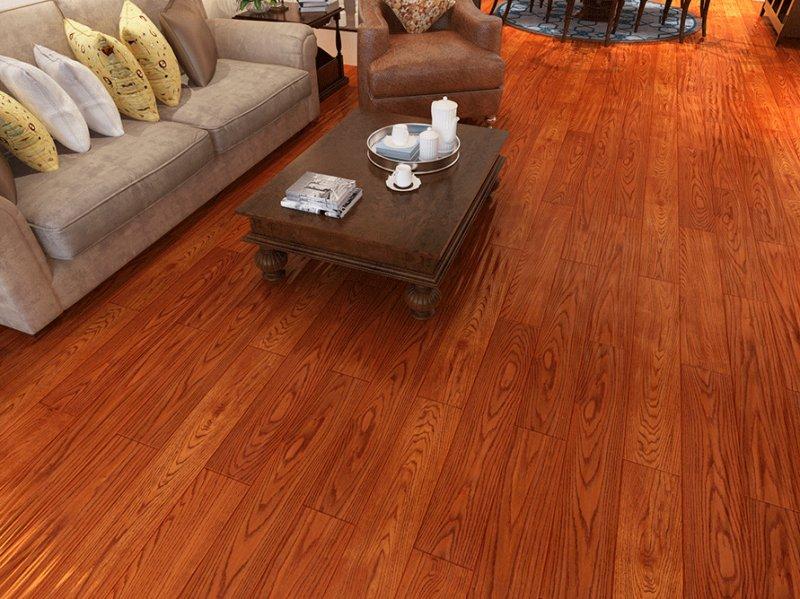 景贤地板产品-实木地板系列美国红橡木
