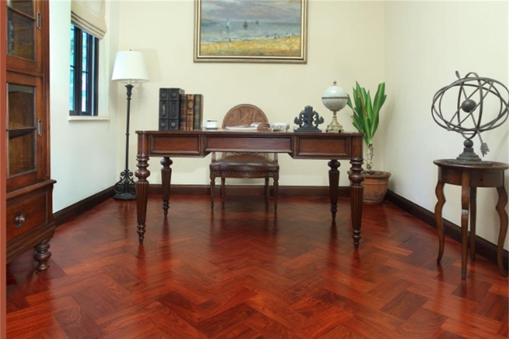 大自然实木地板-D8202P产品效果图
