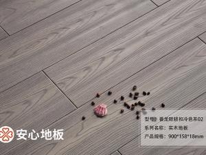 安心地板图片 安信实木地板装修效果图片