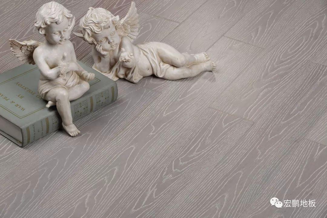 宏鹏地板 灰色地板效果图片_1