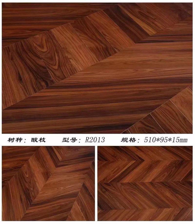 康辉地板新产品-轻奢布艺系列实木地板