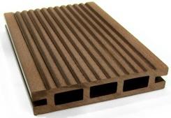 威力戶外塑木地板效果圖