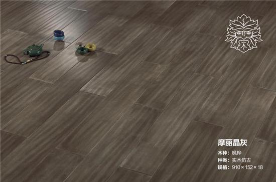 梵·戴克地板图片 实木仿古地板产品效果图