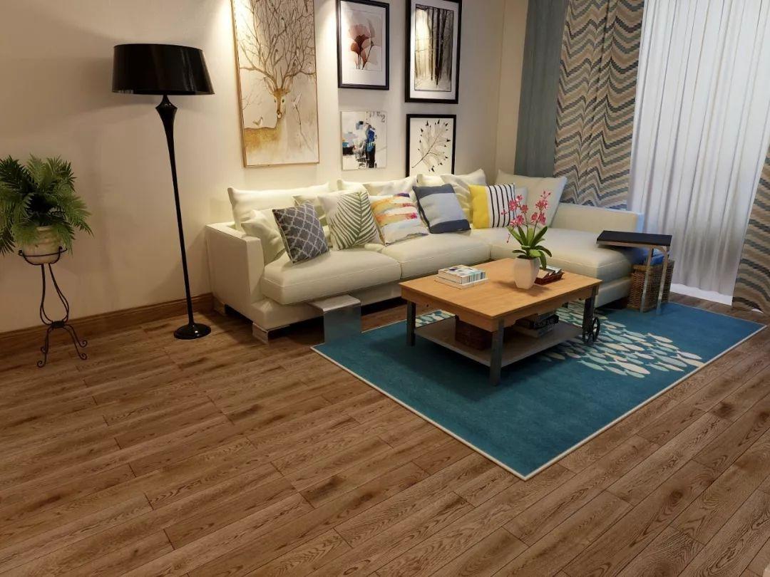 康辉地板图片 地暖实木地板装修效果图