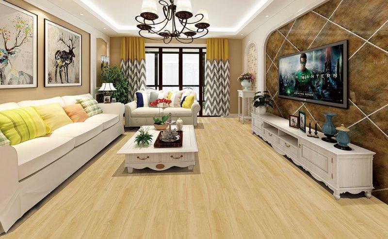 愛爾地板效果圖 客廳木地板裝修圖片