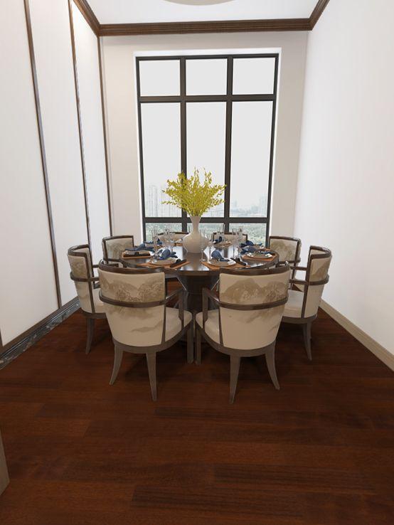 大友地板产品-实木地热系列印茄木FG-309